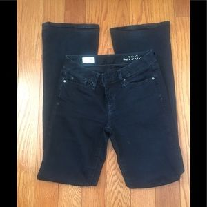 GAP perfect boot cut dark denim jeans